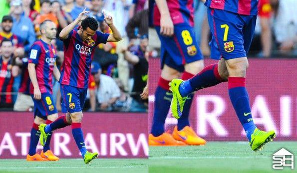 Pedro (Barcellona) - Nike Hypervenom Phantom #intenseheat