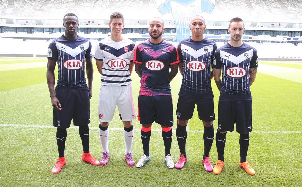 Maglie Puma del Bordeaux 2015-2016