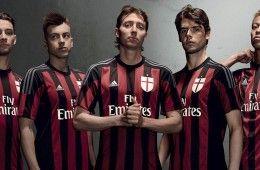 Presentazione maglia Milan 2015-2016