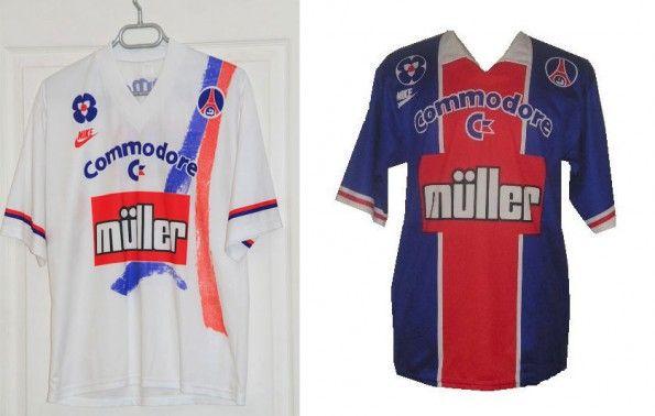 Maglie Paris Saint-Germain 1991-1992