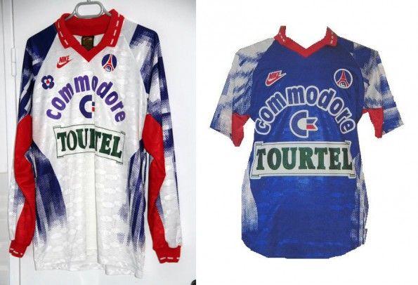 Maglie Paris Saint-Germain 1992-1993