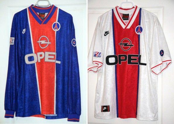 Maglie Paris Saint-Germain 1995-1996