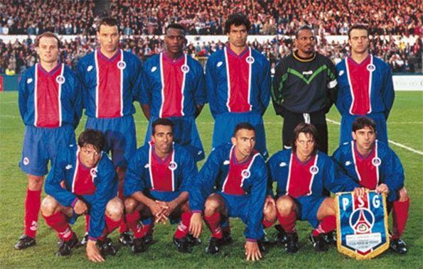 PSG finale Coppa delle coppe 1995-1996