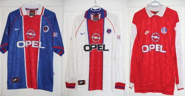 Maglie Paris Saint-Germain 1996-1997