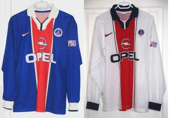Maglie Paris Saint-Germain 1997-1998