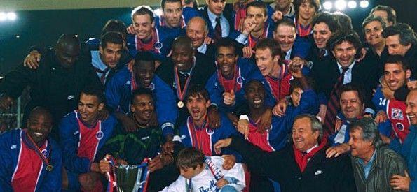 Vittoria PSG Coppa delle Coppe 1996