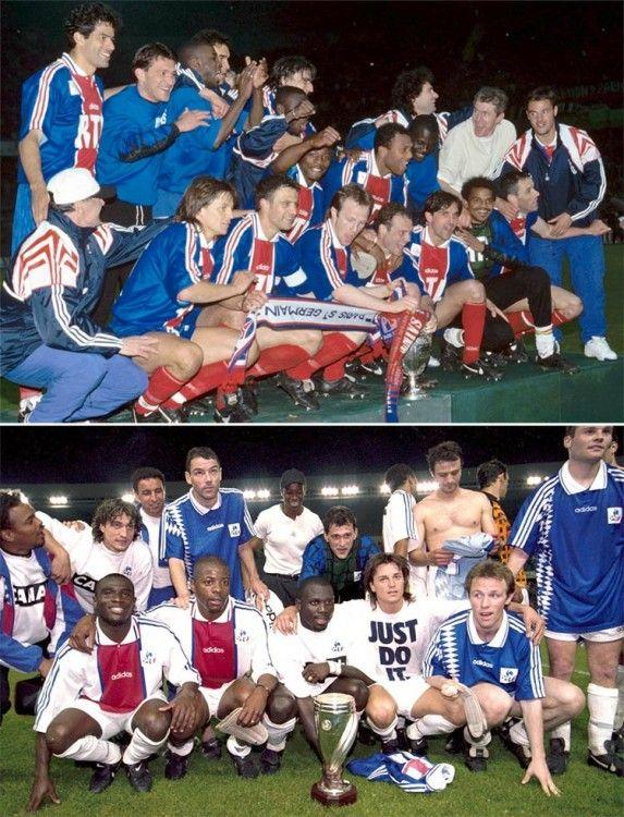 Il PSG vince la Coppa di Francia e la Coupe de la Ligue 1994-1995