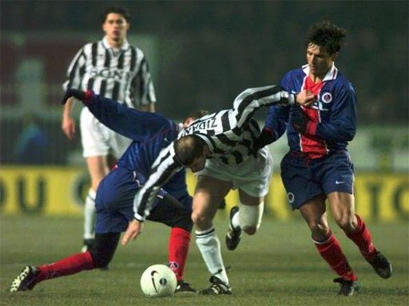 Zidane in PSG-Juventus