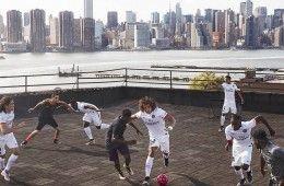 Presentazione maglia PSG away a New York