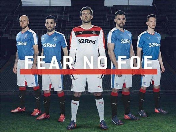 Presentazione maglia Rangers 2015-16 Puma