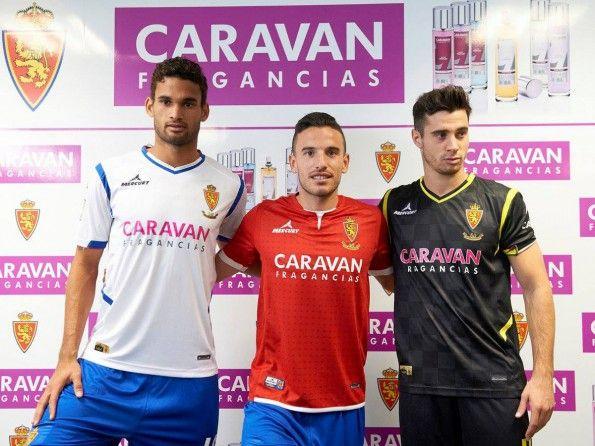 Real Zaragoza, divise 2014-2015