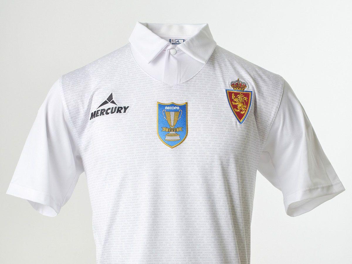 Maglia Real Zaragoza celebrativa Coppa delle Coppe 1995