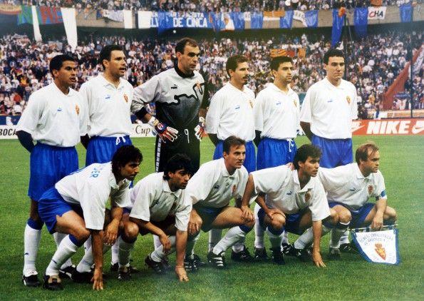 Real Zaragoza, formazione finale Coppa delle Coppe 1995