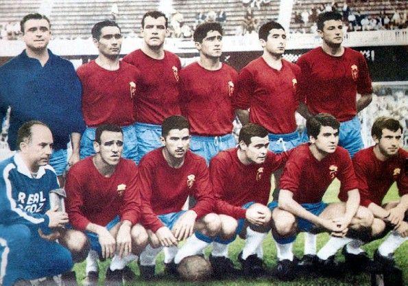 Real Zaragoza, formazione finale Coppa delle Fiere 1964