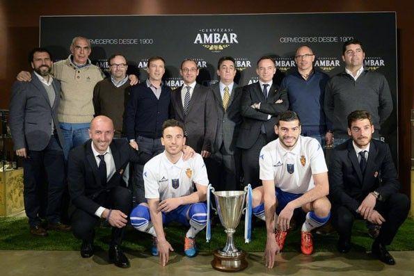 Real Zaragoza, maglia celebrativa Coppa delle Coppe 1995, giocatori