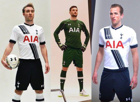 Tottenham Hotspur kits 2015-2016