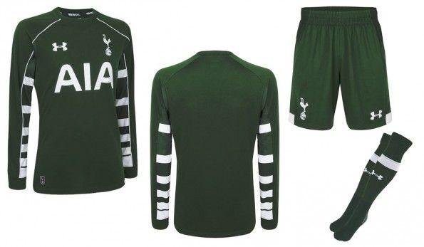 Divisa portiere Tottenham 2015-16 verde
