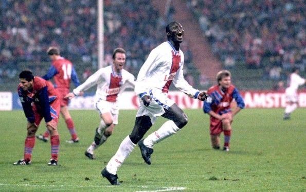 Weah in PSG-Bayern Monaco 1994-1995
