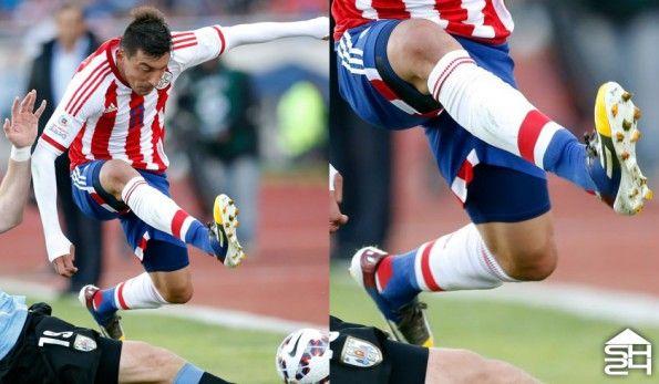 Edgar Benitez (Paraguay) - adidas F50 adizero Messi