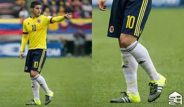 James Rodriguez (Colombia) - adidas ACE15