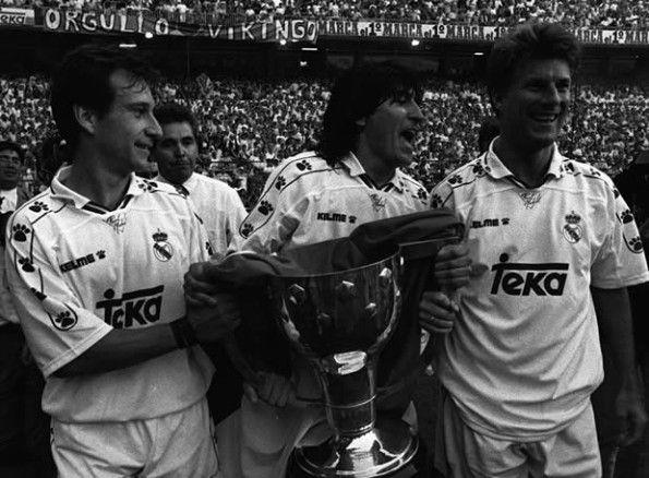Vittoria Liga Real Madrid 1994-95