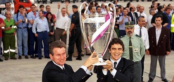 Sanchis Heynckes con la Champions League