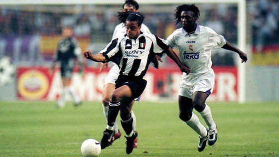 Seedorf e Davids, Real Madrid-Juventus