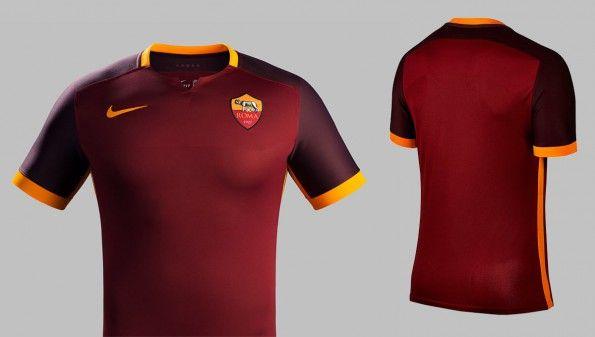 Maglia AS Roma 2015-2016 home