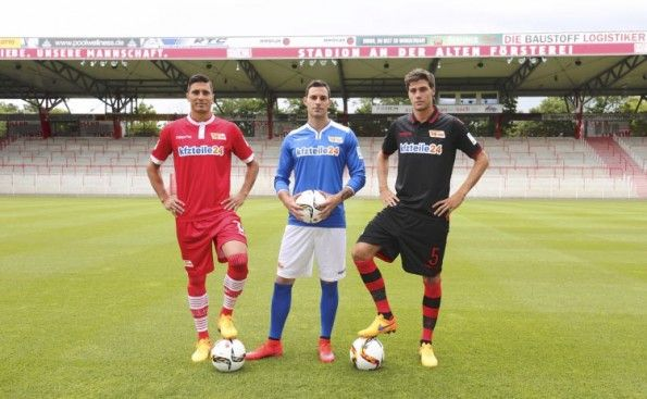 Presentazione kit Union Berlin 2015-16 Macron