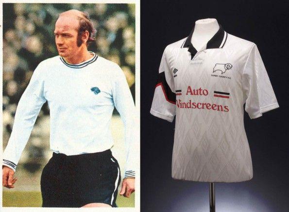 Maglie Derby County 1970 e 1991-93