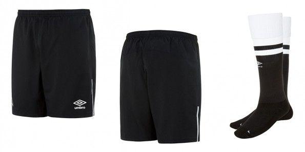 Derby County pantaloncini calzettoni neri 2015-16