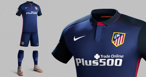 Divisa Atletico Madrid away 2015-2016