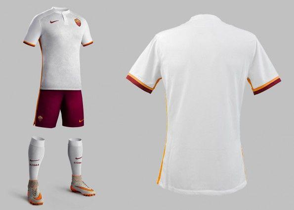 Divisa Roma away 2015-2016