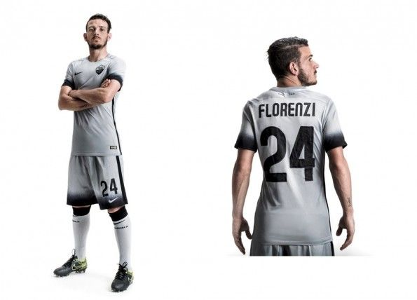 Florenzi terza maglia AS Roma 2015-16