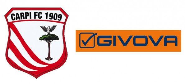 Givova sponsor tecnico Carpi