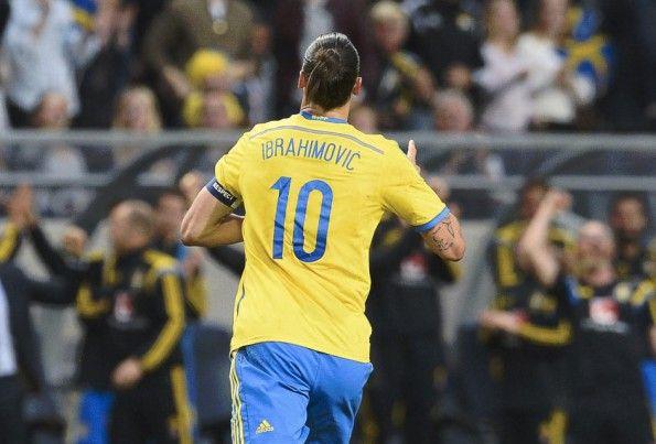 Ibrahimovic maglia Svezia numero 10