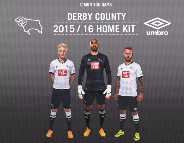 Kit Derby County 2015-16 Umbro