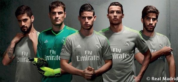 Kit Real Madrid away 2015-2016 adidas
