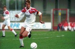 Jürgen Klopp con la maglia del Mainz 05