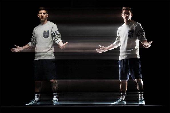 Lancio scarpe Messi15 adidas