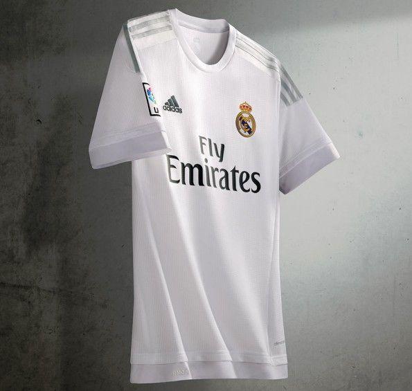 Prima maglia Real Madrid bianca 2015-16