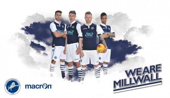 Kit Millwall home 2015-2016