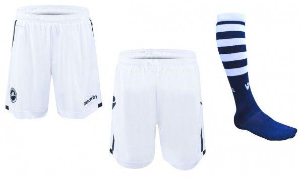 Millwall pantaloncini calzettoni kit home 2015-2016