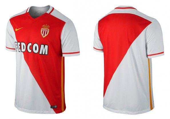 Maglia Monaco 2015-2016 home
