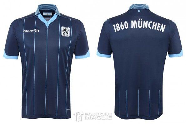 Seconda maglia Monaco 1860 2015-2016
