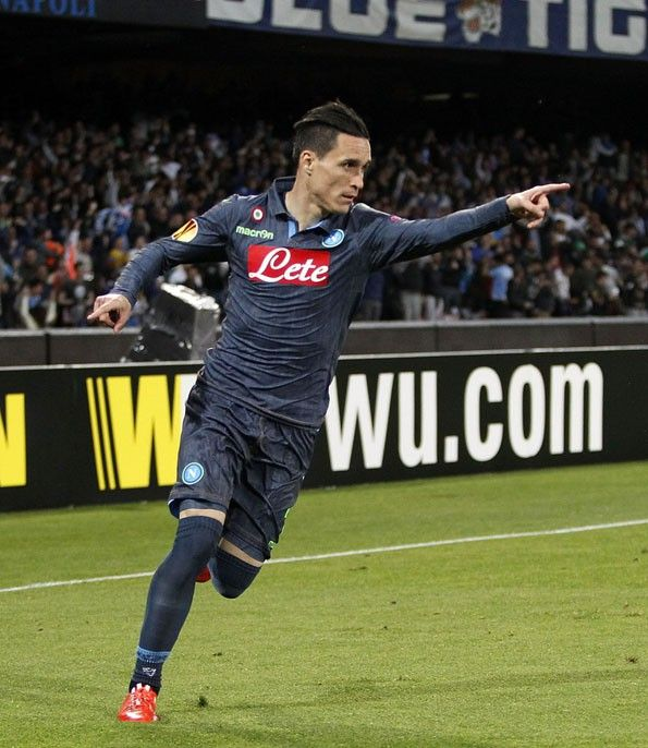 Napoli, away jeans 2014-2015, Europa League, Callejon