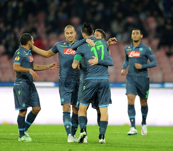 Napoli, away jeans 2014-2015, Europa League