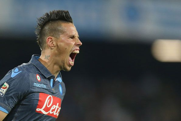 Napoli, away jeans 2014-2015, Hamsik