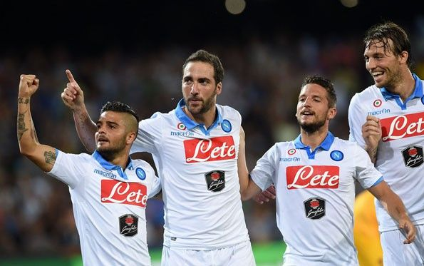 Napoli, third 2014-2015