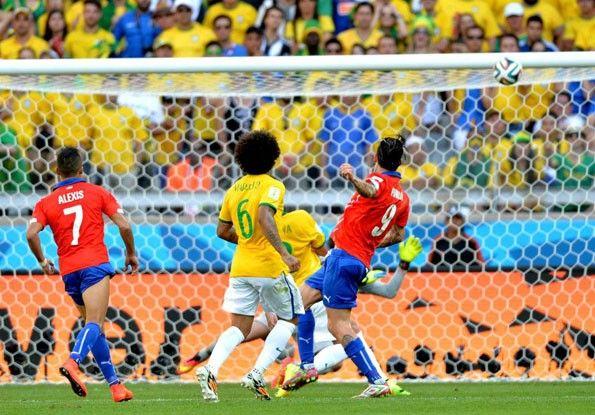 Mondiali 2014, Brasile-Cile, Mauricio Pinilla